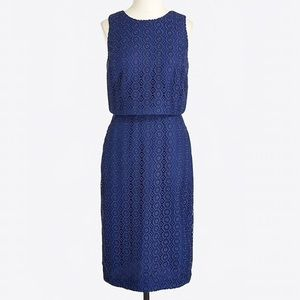J.Crew Factory Tiered Eyelet Dress